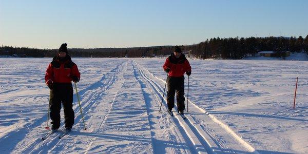 Ski de fond Laponie